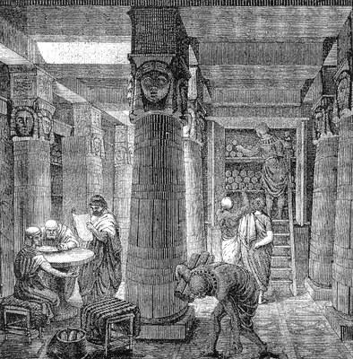Biblioteket i Aleksandria