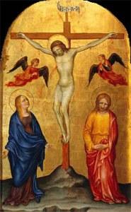 Maria under korset